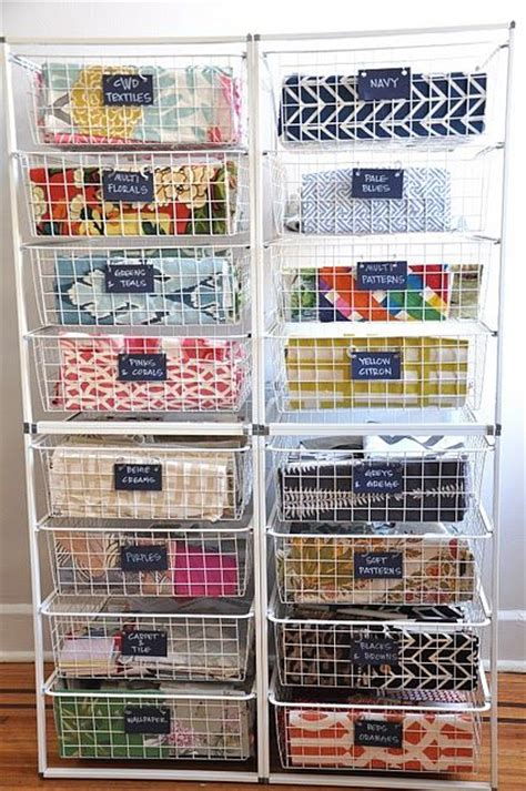 Quilt Fabric Storage Ideas by 145 Best Images About Quilting Room Fabric Storage On