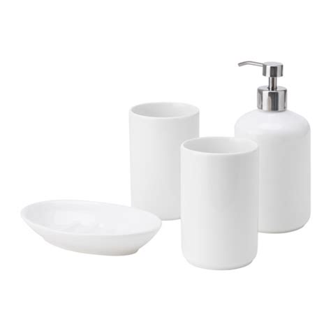 Bathroom Accessories Ikea Boasj 214 4 Bathroom Set Ikea