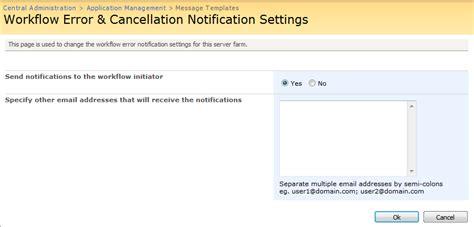 nintex workflow send notification 1 13 workflow error notifications