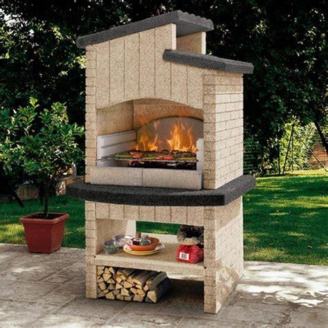 barbecue prefabbricati da giardino barbecue da giardino marettimo new palazzetti prefabbricato