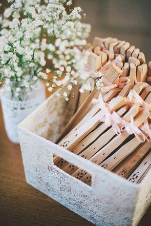 Wedding Favor Idea Decorative Wooden Fan by Sam S Vintage Wedding In Wa S Bunker Bay