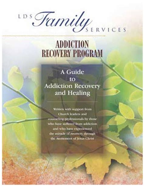 Lds Detox Center by Addiction Recovery Program Manual A Guide To Addiction