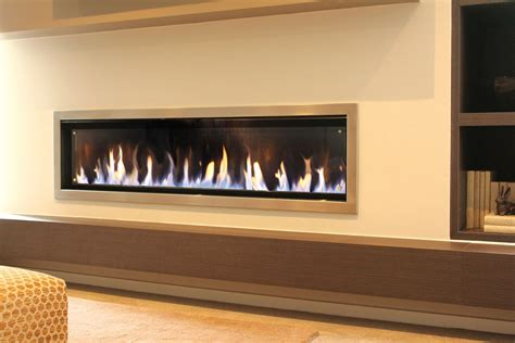 Real Flame Landscape Gas Fire   Turfrey Gas Fires