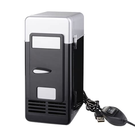 Portable Usb Mini Desk Fridge And Drink Cooling Warmer For Laptop Mini Desk