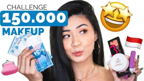Make Up Murah Tapi Bagus 150 k make up challenge 2017 tutorial make up murah tapi bagus makeup glam look