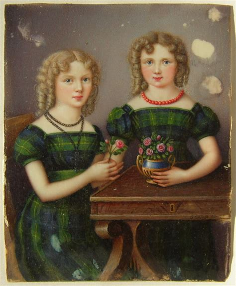 to whom is mary anne marsh married miniature portrait of elizabeth louisa marsh caldwell and