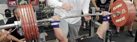 eric spoto bench recommendations for powerlifting wrist wraps