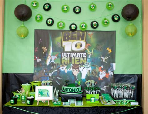 ben 10 printable party decorations ben 10 birthday quot ben 10 quot catch my party