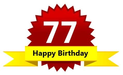 77th birthday wishes messages for birthday cards