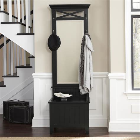 black hallway bench hallway tree bench black stabbedinback foyer new style