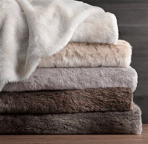 Faux Fur Bed by Luxe Faux Fur Bed Throw