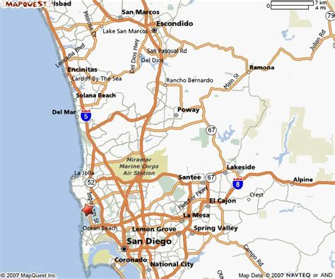 san diego county map southern california cities map california map