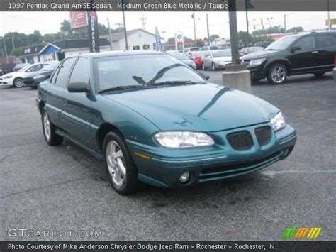 how cars run 1997 pontiac grand am navigation system medium green blue metallic 1997 pontiac grand am se sedan taupe interior gtcarlot com