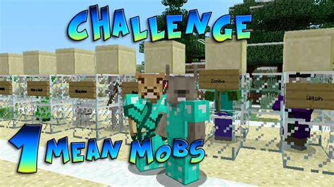 xbox minecraft challenges minecraft xbox challenge mobs fred and bob 1