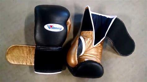 Handmade Boxing Gloves - custom 14oz winning boxing gloves review