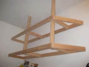 Garage Shelving Plywood Building Garage Shelves