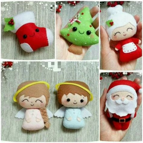 Hiasan Dan Gantungan Natal jual hiasan ornamen gantungan aplikasi boneka pohon natal