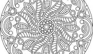 free printable mandala coloring pages backgrounds coloring