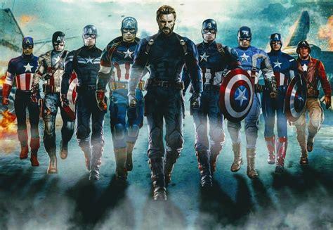 captain america suit comparison mcu movies