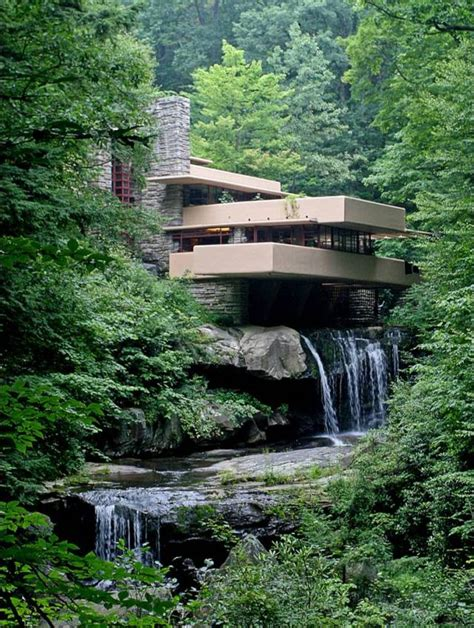 frank lloyd wright waterfall frank lloyd wright fallingwater 1935 1939 humanities