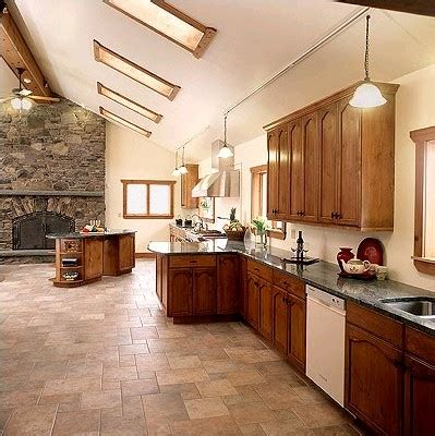 kitchen flooring idea ceramic tile best flooring choices