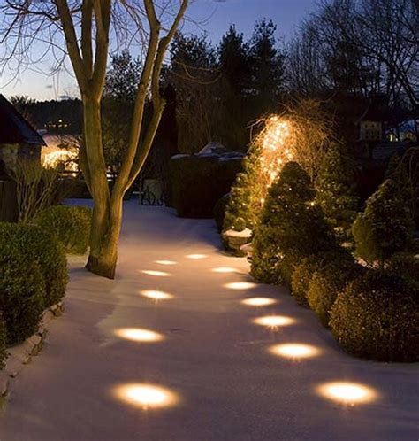 winter decor the best garden lights vintage industrial