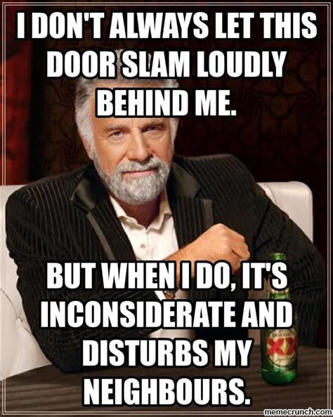 Door Meme - door slam