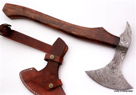 Handmade Axe Handles - damascus knife custom handmade 20 00 inches wood