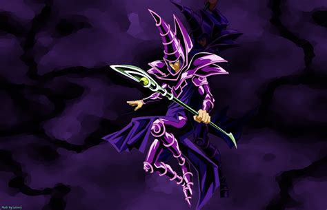 yu gi  dark magician wallpaper wallpapersafari