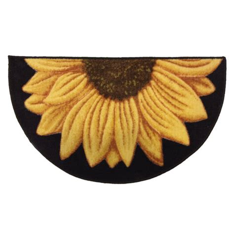 Sunflower Kitchen Rugs Better Homes And Gardens Sunflower Kitchen Rug Other Home Walmart