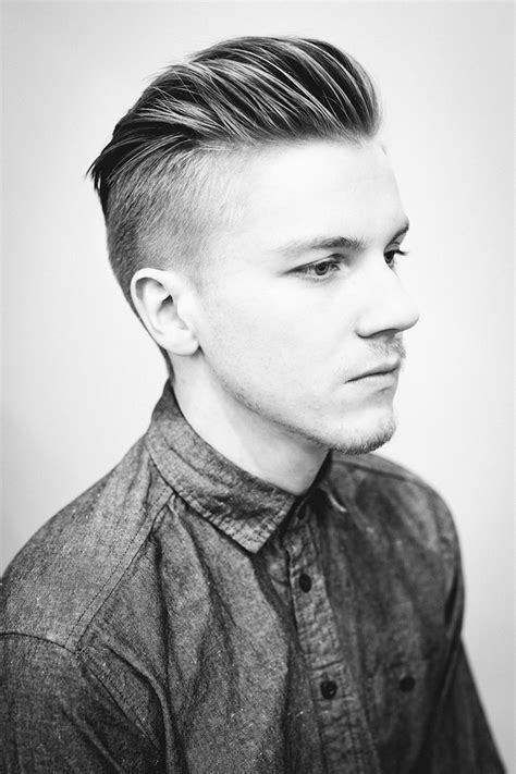 quiff hairstyle  inspire  men feed inspiration