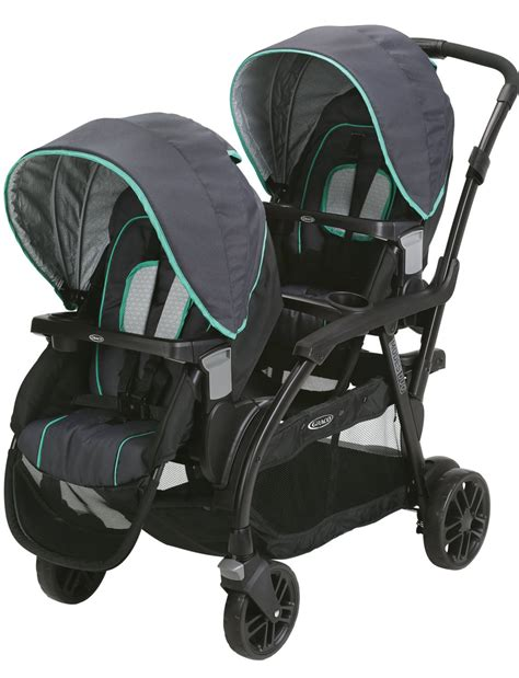 graco room for 2 graco room for 2 click connect stand ride stroller gotham walmart