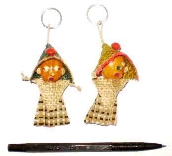 Gantungan Kunci Minifigure Two gantungan kunci boneka dub1 souvenircantik