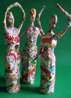 new year paper mache how to make a puppet for the new