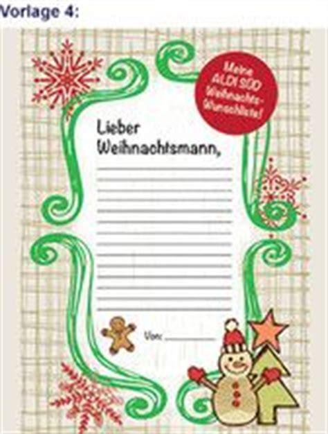 Word Vorlage Sperren aldi s 220 d wunschzettel vorlagen wunschzettel