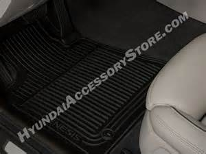 Hyundai Genesis Floor Mats All Weather 2015 16 Hyundai Genesis Sedan All Weather Mats