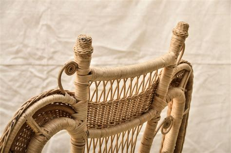 victorian style armchair victorian style wicker armchair at 1stdibs