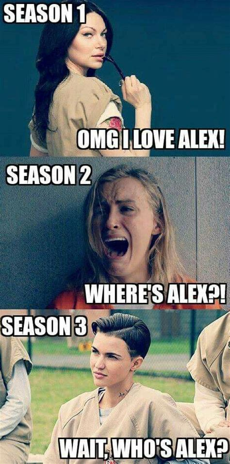 Oitnb Memes - orange is the new black who s alex oitnb orange is