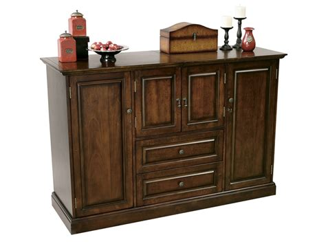 Wine Bar Cabinet Furniture American Cherry Wine Bar Storage Cabinet