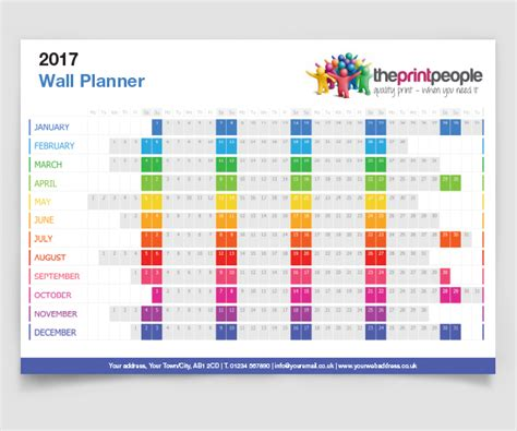 free printable wall planner 2015 uk print offers the print people norwich