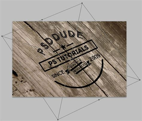 photoshop tutorial logo in wood create an engraved wood logo in photoshop kemal fajar