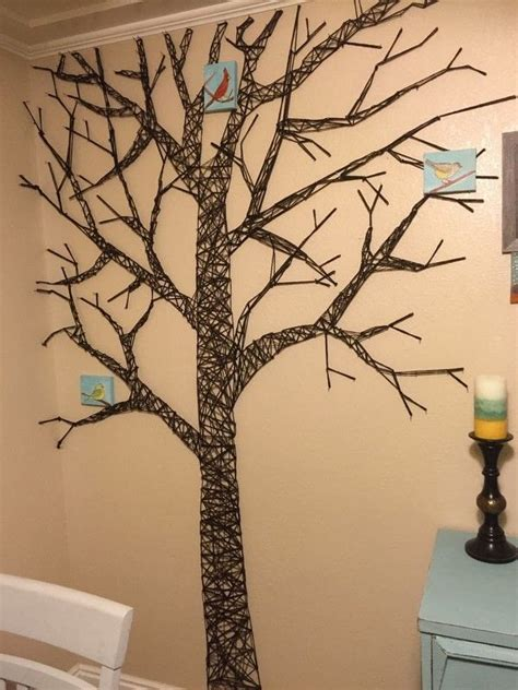 string wall tree tree string 183 how to make wall decor 183 home diy on cut out keep