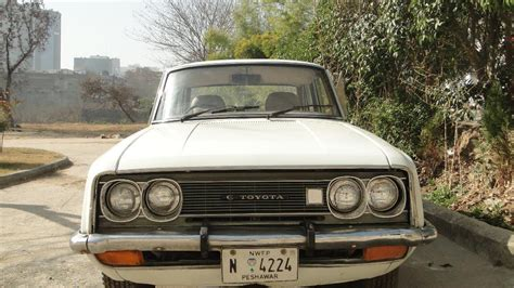 Toyota Corona For Sale In Pakistan Toyota Corona 1969 White Color For Sale Islamabad