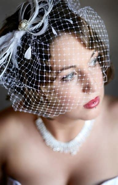 Handmade Birdcage Veil - o dwyer photography artistic photography in co