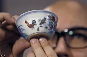 rare ming dynasty chicken cup described as the holy