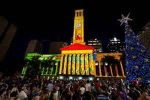in photos brisbane s ever changing christmas tree