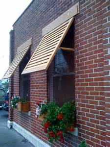 solid wood window awnings by crestview doors home crafts