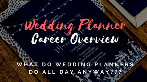 how to become a wedding planner - Wedding Planner Career