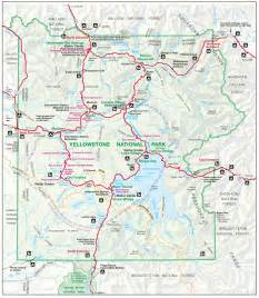 us map yellowstone yellowstone map yellowstone maps