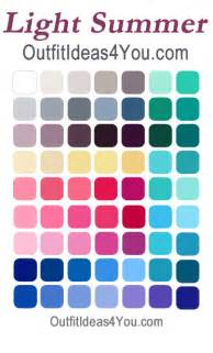 light summer color palette are you a light summer your seasonal color analysis